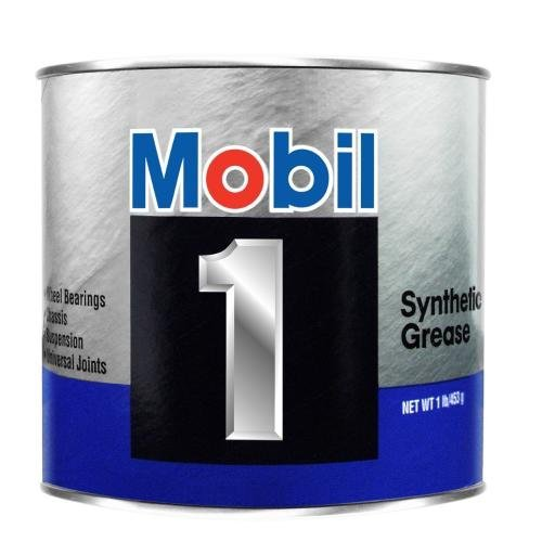 Mobil 1 Synthetic Grease, 16 oz. (102481) 1 Grease