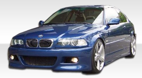 1999-2006 BMW 3 Series 2DR E46 Duraflex M3 Style Body Kit - 4 Piece - Includes M3 Style Front Bumper Cover (102055) R-1 Rear Bumper Cover (102062) R-1 Side Skirts Rocker Panels (102451) ()