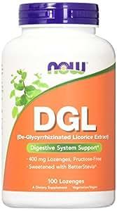 NOW DGL 400 mg,100 Lozenges