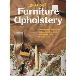 Upholstery Book - Furniture Upholstery (Sunset Books)