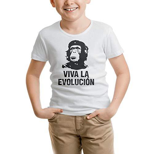 Viva La Evolucion Magic Unisex Boys Girls Print tee Shirt
