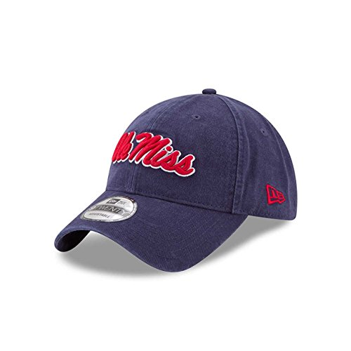 (New Era Ole Miss Rebels Campus Classic Adjustable Hat - Team Color, One Size)