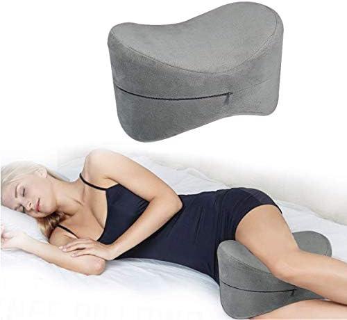 Memory Foam Contour Leg Pillow Bed Orthopedic Firm Legg Pillow Clip Leg Pillow