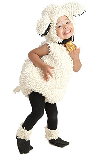 Princess Paradise Baby's Lovely Lamb Deluxe Costume, As Shown, 18M/2T ()