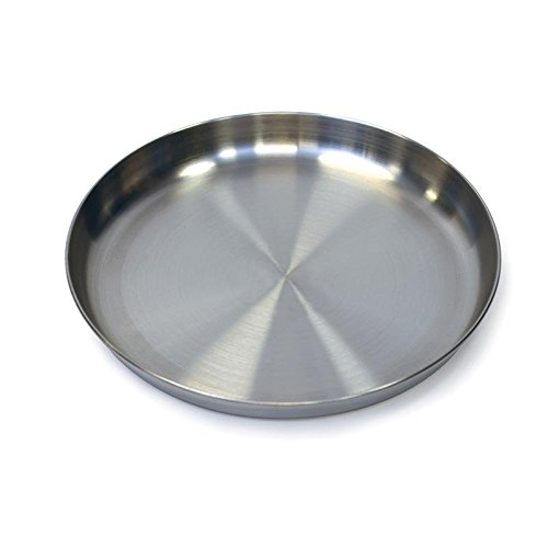 STAINLESS STEEL PLATE - 9 IN, Case of 12