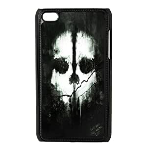 iPod Touch 4 Case Black Cod ghosts JSK836670