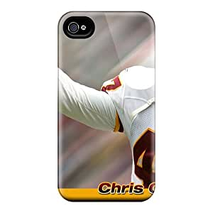 Fashionable Style Case Cover Skin For Iphone 4/4s- Washington Redskins