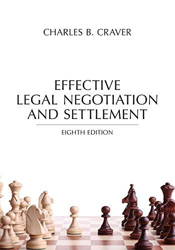 Effective Legal Negotiation+Settlement