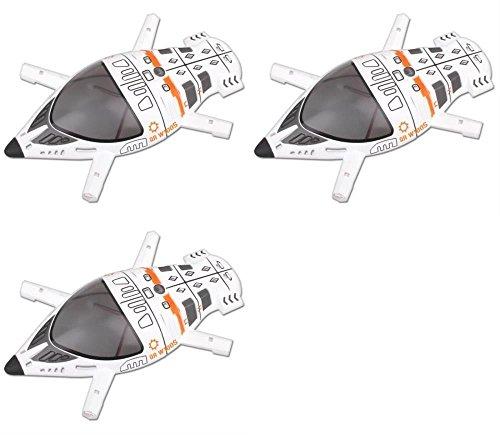 HobbyFlip 3 x Quantity of Walkera QR W100S 5.8Ghz FPV Quadcopter Upper Body Cover Shell Part # QR W100S-Z-08 by HobbyFlip