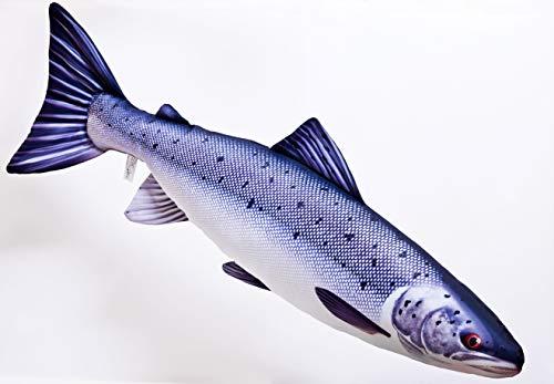 - Atlantic Salmon by Gaby, Fish Pillow, Stuffed Toy