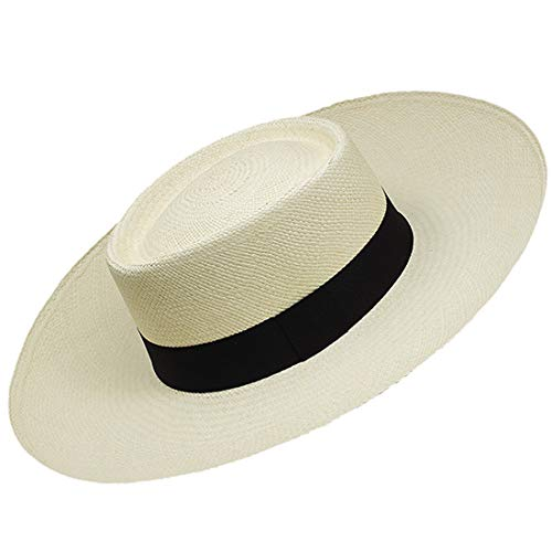 Gamboa Genuine Panama Hat Gambler - Wide Brim Straw Hat