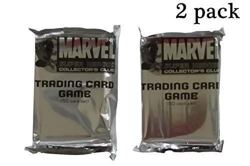 Marvel Super Heroes Collector's Club Trading Card Game Blind 2 (Superhero Trading Cards)