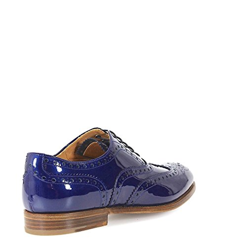 Pelle DE00329LPF0V41 CHURCH'S Blu Donna Stringate qZgw8v