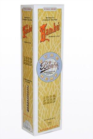 Bambu - Big Bambu Pure Hemp Rolling Paper (50 Booklets) by bambu (Image #2)