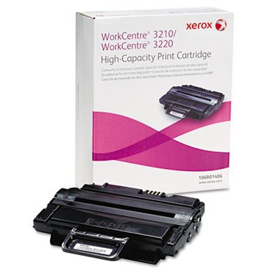 - Genuine Xerox High Capacity Black Print Cartridge for the WorkCentre 3210/3220, 106R01486