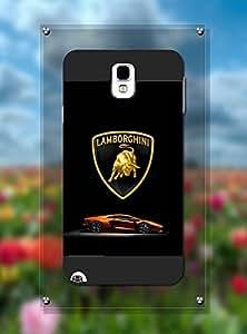 Samsung Note 3 Funda Case Car Logo Automobili Lamborghini - Customized Design Drop Protection Slim Samsung Galaxy Note 3 Back Funda Case Cover For Guys