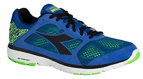 Diadora Shoes Running Sneaker Jogging Men X Run Royal/Black 45 Blu Royal Size 11