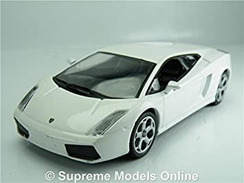 Lamborghini Gallardo Model Car 1 43 Scale White Sports Deagostini