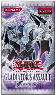YuGiOh GX CCG Gladiator's Assault 24 Count Booster Pack Box Lot [Toy]
