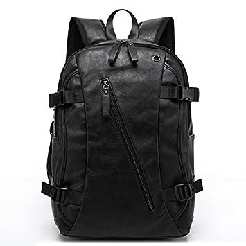c0e397b6f313f liningmen PU PATENT Leder Rucksäcke Herren Fashion Rucksack   Travel Bags  Western College Style Staubbeutel