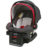 Graco SnugRide SnugLock 35 Infant Car Seat with adjustable base (Chili Red)