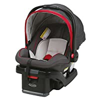 Graco SnugRide SnugLock 35 Infant Car Seat with adjustable base, Chili Red