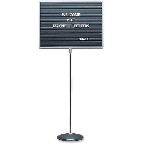 QRT7921M - Quartet Adjustable Single Pedestal Letter Board by Quartet