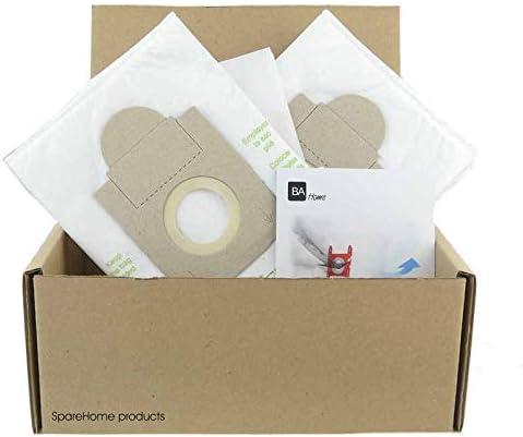 SpareHome 10 Bolsas + 2 microfiltros Aspirador Rowenta: Amazon.es ...