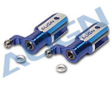 (Align HS126284 Metal Main Rotor Holder/Grip Set, Dk Blue:450SE V2)