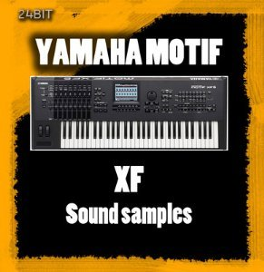 - Yamaha Motif Es & Xs sound samples /Wav 2 DVD's