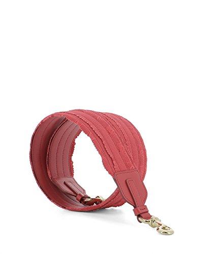 Salvatore Ferragamo Borsa A Spalla Donna 0664098 Tessuto Rosso