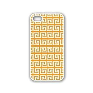 Greek Pattern - Sky Blue - Protective Designer BLACK Case - Fits Apple iPhone 5 / 5S