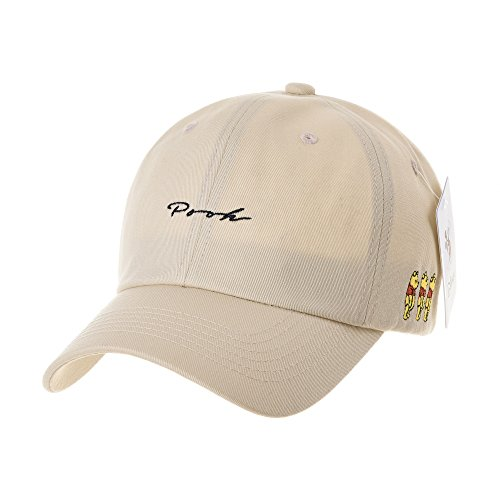 Winnie The Pooh Cotton Cap - WITHMOONS Disney Winnie The Pooh Baseball Cap Cotton Hat CR1671 (Beige)