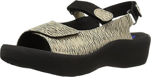 Wolky Jewel Womens 1 Denim 3204 Leather Canals Beige Sandals OOrzBnx