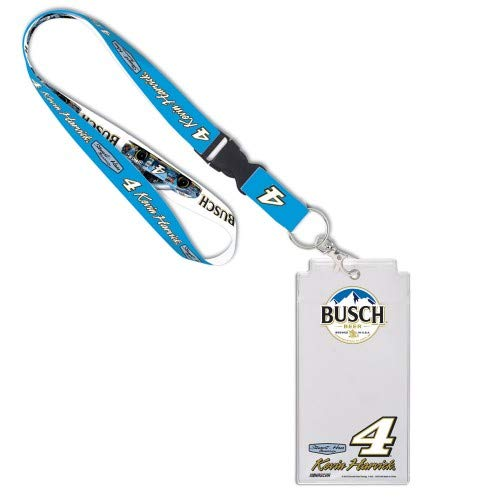 NASCAR Credential Holder with Break Away Lanyard (Kevin Harvick, Busch)