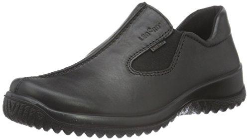 Legero Kvinnor Platt Toffel Svart (schwarz) 8-00568-01 Schwarz