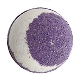 Ultimate Rest Bath Bombs x4, 200mg Hemp Extract, 50 mg each, Ultra Large Handmade Bath Bombs 180g, Essential Oils, Aromatherapy, Reduce Anxiety Stress and Pain
