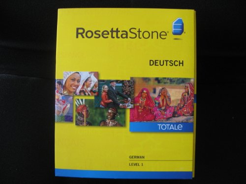 Used, Rosetta Stone - German/Deutsch - Level 1 - Version for sale  Delivered anywhere in USA