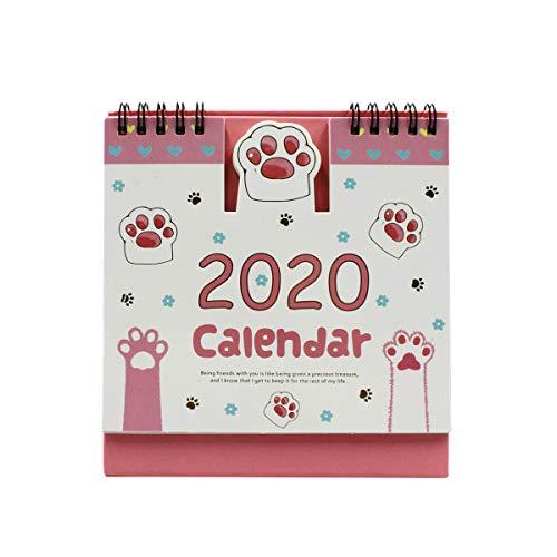 Amazon.com: Calendario de escritorio 2019-2020, con diseño ...