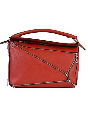 LOEWE WOMEN'S 32630K747695 RED LEATHER SHOULDER BAG