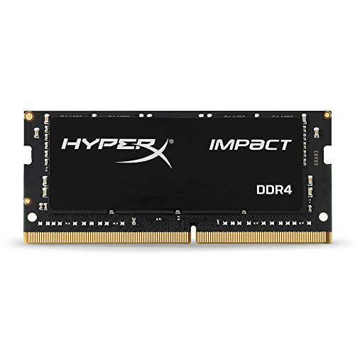 Kingston Technology HyperX Impact 16GB 2133MHz DDR4 CL13 260-Pin SODIMM Laptop Memory HX421S13IB/16 (Ram Predator Kingston)