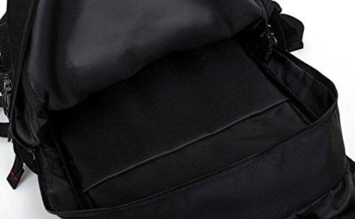TUOZA Para Hombre De Recorrido Al Aire Libre Mochila De Viaje Multifunción,Black-OneSize Black