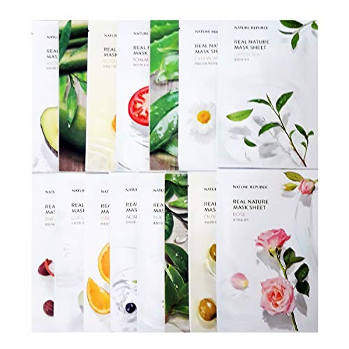 Nature-Republic-Real-Nature-Mask-Sheet-30pcs-Lot-Facial-Skincare-Original-Korean-Mask-Sheet