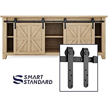 Amazon Com Barn Door Hardware For Cabinet 7ft 84 Mini