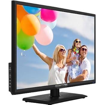 Amazon Com Sceptre 24 Quot Class Fhd 1080p Led Tv E246bv F