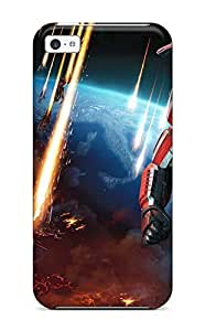 Awesome Design Commander Shepard In Mass Effect 3 Hard Case Cover For Iphone 5c