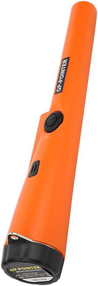 D/étecteur de M/étaux Portable Pointeur /à Broche R/ésistants /à Eau Chasse Accessoires pour Outils de D/éterrage Pinpointer Recherche dOr Utilisation Sous-marine /Étui en Cuir