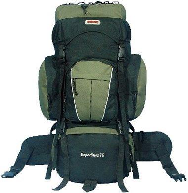 CUSCUS 5400ci Internal Frame Hiking Camp Travel Backpack Green, Outdoor Stuffs