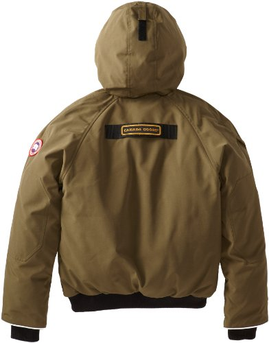 Canada Goose Youth Rundle Bomber, Military Green, X-Small by Canada Goose (Image #2)