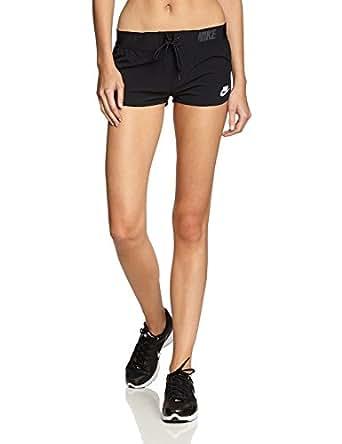 Nike Women's Azore Mini Running Short (X-Large, Black)